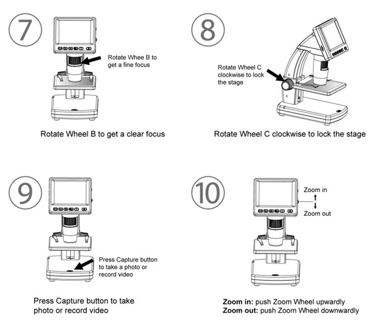 LCD Digital Microscope Quick Start Guide 03
